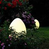 Decoration, Egg Outdoor Solar Lighting Ideas: Outdoor Solar Lights As ...