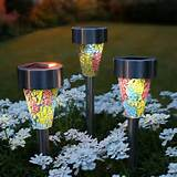 solar outdoor garden lights solar landscape lighting garden nexpeditor