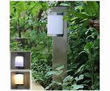 home outdoor solar powered 2led garden lights landscape lights