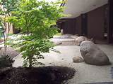 Contemporary Zen Garden Or Rock Garden Design Entrancing Garden Ideas ...