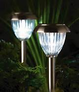 Venetian Stainless Steel Solar Garden Light