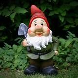 Large Jolly Garden Gnome