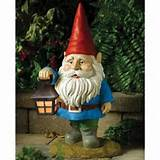 there were garden gnomes as they couldn t be proper garden gnomes ...