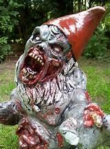 zombie garden gnome, patient Z6,NR.03 (sprinter) by doodd
