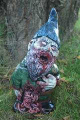 walking dead gnomes santa corpse the zombie gnome