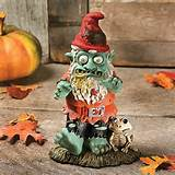 Zombie Garden Gnome Statue $16.99