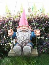 super polyresin funny garden gnomes with unfadable painting for