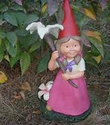 exquisite workmanship top grade polyresin female funny garden gnomes
