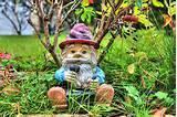 Eti Reid › Portfolio › Funny garden gnome HDR