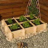 billy oh herb garden raised bed 44 90 from garden buildings direct