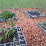 raised garden blockbeppycat co cinder block raised bed herb garden