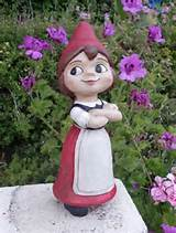 Juliet Gnome Garden Statue - Click to enlarge