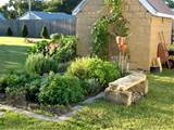several factors to consider when growing herb gardens design