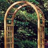 Elite Wooden Garden Arch by Grange Garden Products