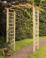 garden arches a garden arch can enhance or change the