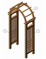 Simple Garden Arch Plans