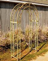 this arbor is 100 before staking 92 after measures 60 from outside