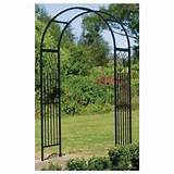 new metal steel garden arch wedding trellis arbor decor