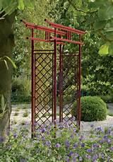garden structures garden arches japanese torii gate classic garden ...