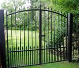 Arch Top Garden Gates