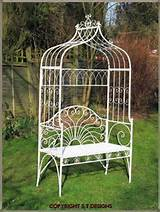 Garden arch with seat £144
