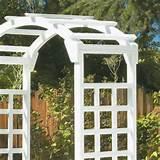 White Arch Arbor