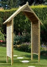 Categories Garden Articles Add Structure with a Wooden Garden Arch