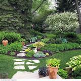 shade garden garden ideas