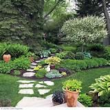 Shade garden garden-ideas