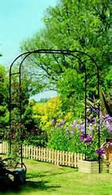 Metal Garden Arch - Extra Wide