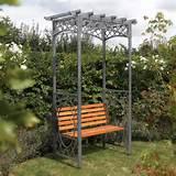 Rowlinson Wrenbury Metal Arch - Seat
