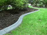 Concrete Lawn Edging http://www.pic2fly.com/Concrete+Lawn+Edging.html