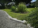 edging stones steps for installing stone edging in your lawns