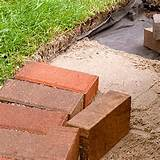 Garden Brick Edging4