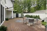 ... Design Photos, Elegant Brick Patio In Luxury Home In Courtyard Designs