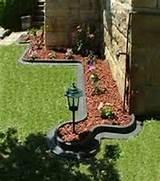 in the form of plastic garden fencing plastic garden edging