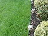how to install plastic lawn and garden edging