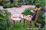 patio gardening ideas plush container garden patio design idea 600x400