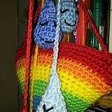 crochet rainbow and raindrops ready for the nursery for my grandchild