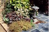 Make a dull patio sparkle with some planting pockets.