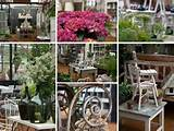 Preview evening at the new garden shop at Petersham Nurseries