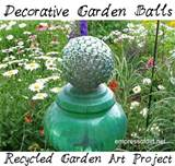 Glass Gem Garden Art & Craft Ideas *19 Projects*