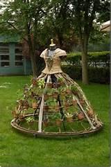 garden dress garden art