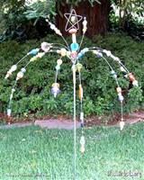garden sparklerglass beads garden art
