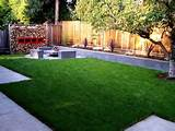 simple garden ideas easy landscaping ideas for backyard 300x225 easy