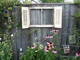 happened to find this old window and the shutters around the same