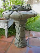 heavy outdoor concrete als garden art happy frog water fountain