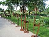 hornbaker gardens garden art