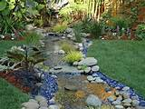 Backyard Landscape Ideas For Small Yards With Rock Gardens Designs ...