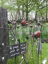 Wonderful whimsical garden art